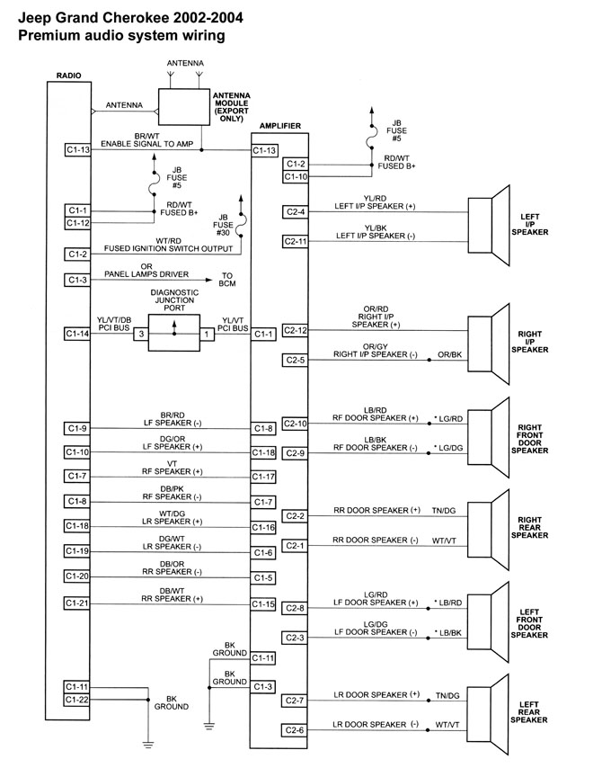 wiring diagram for 2001 jeep wrangler ve 5204  jeep grand cherokee radio wiring diagram in addition jeep  ve 5204  jeep grand cherokee radio