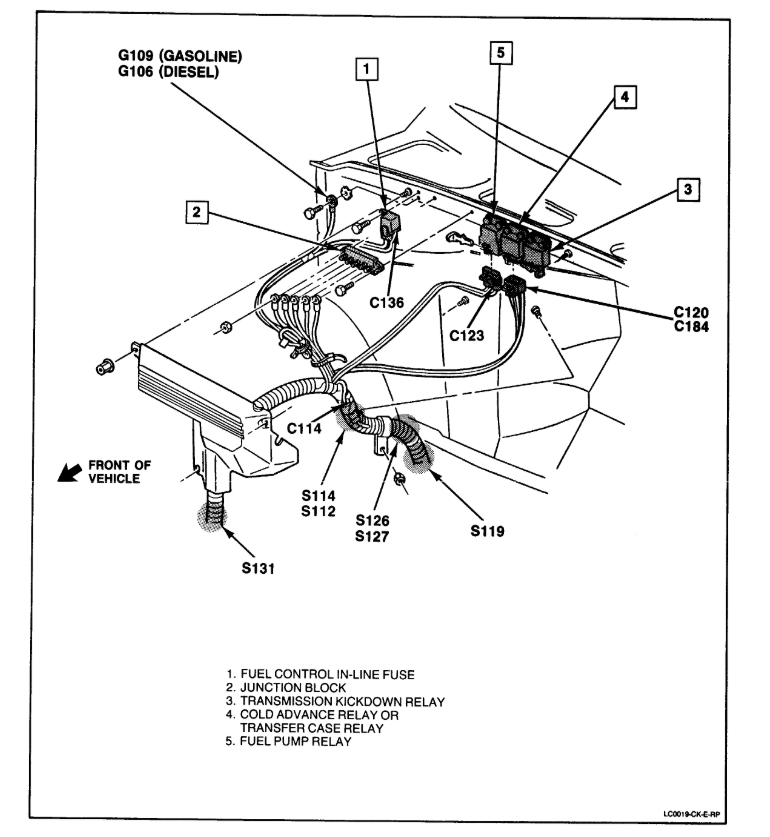 98 camaro fuel pump wiring diagram