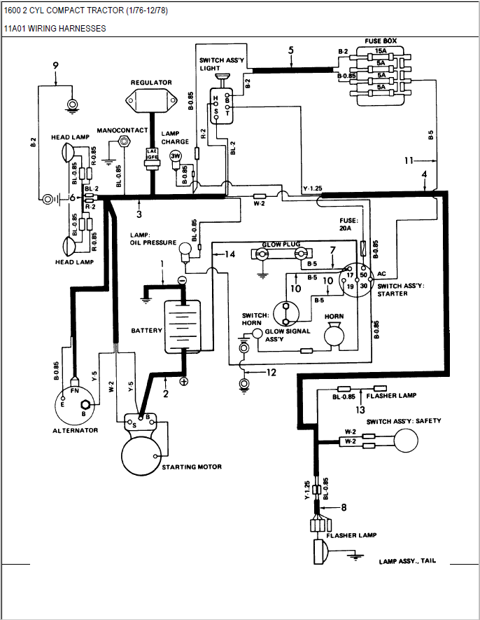 Ford Tractor 3930 Wiring Diagram - Chevelle Ignition Switch Wiring Diagram  for Wiring Diagram SchematicsWiring Diagram Schematics