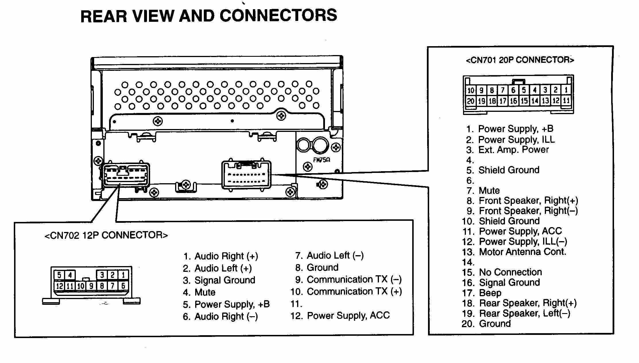 Delco Gm Radio Wiring Diagram