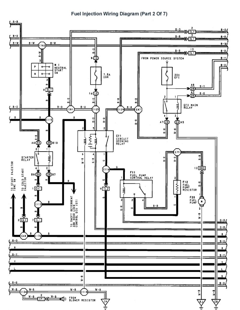 1990 Ls400 Wiring Diagram - Wiring Diagram