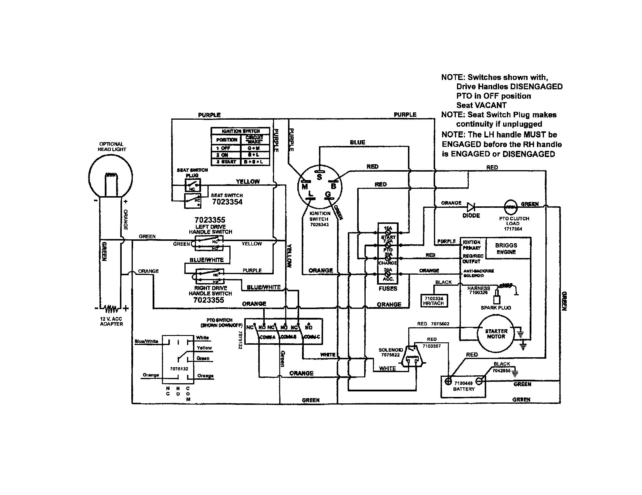 Snapper Z1804k Wiring Diagrams Sony Cdx M10 Wiring Diagram