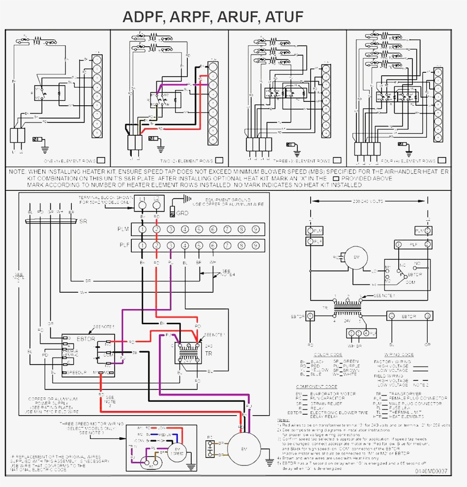 Dw 0103 Wiring Diagram Goodman Aept Aepf Air Handler To Heat Pump Wiring Download Diagram