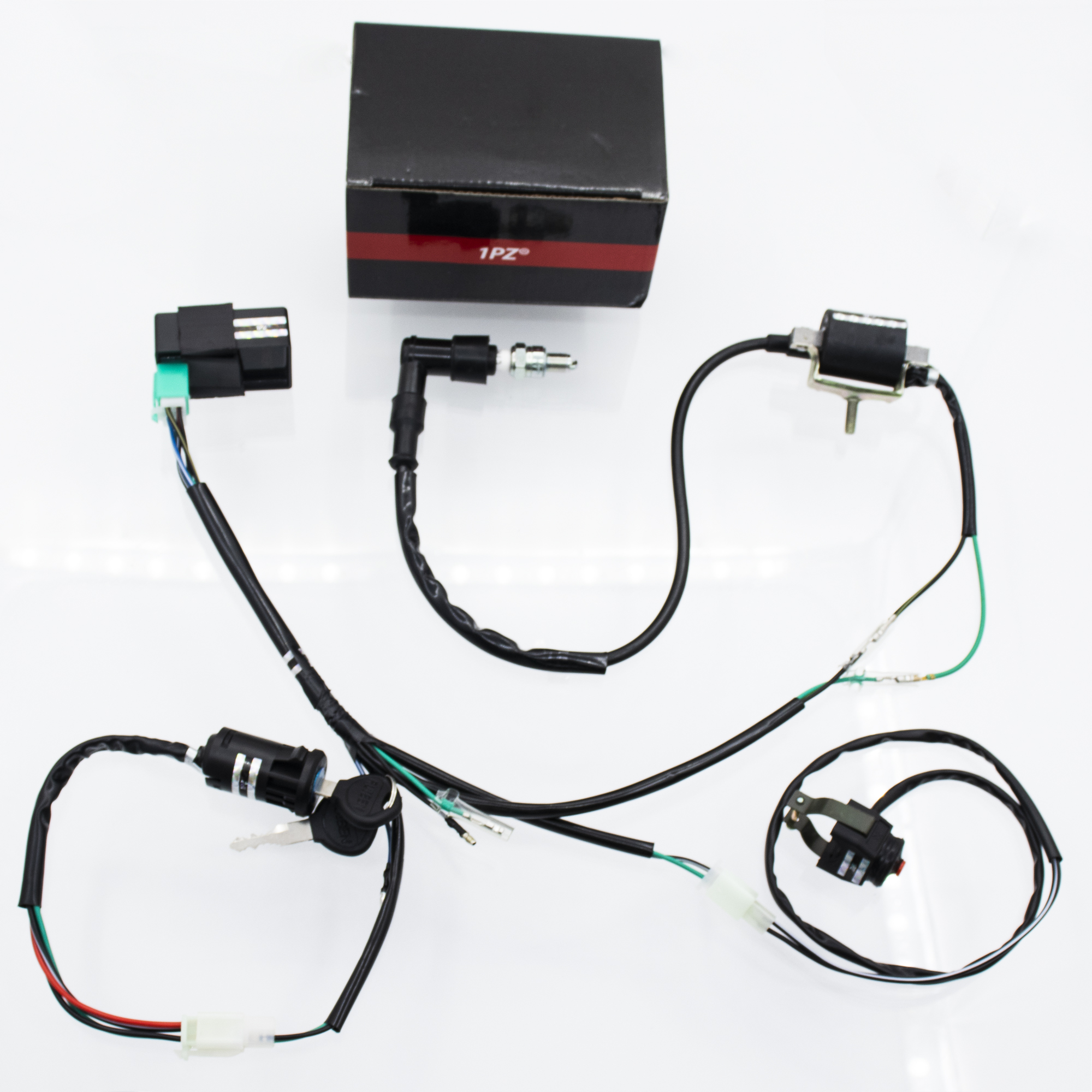 Awesome 1Pz 1Pz Tg1 S02 Wire Harness Wiring Loom Cdi Ignition Coil Spark Wiring Cloud Eachirenstrafr09Org