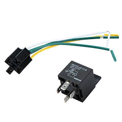 Prime Amazon Com 12V 40A Auto 4 Pin Relay Socket And Wiring Harness By Wiring Cloud Ostrrenstrafr09Org