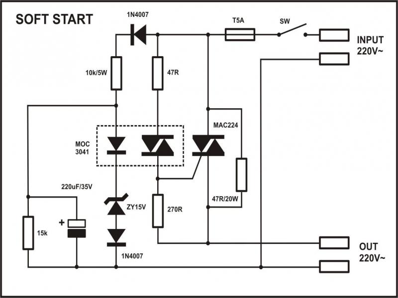 Superb Soft Start Motor Starter Wiring Diagram Basic Electronics Wiring Wiring Cloud Licukshollocom