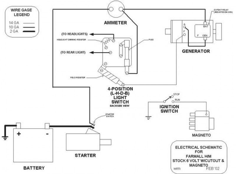 Farmall Cub Wiring Diagram 12v Diagram 3 Wire Motor Control Source Auto5 Yenpancane Jeanjaures37 Fr