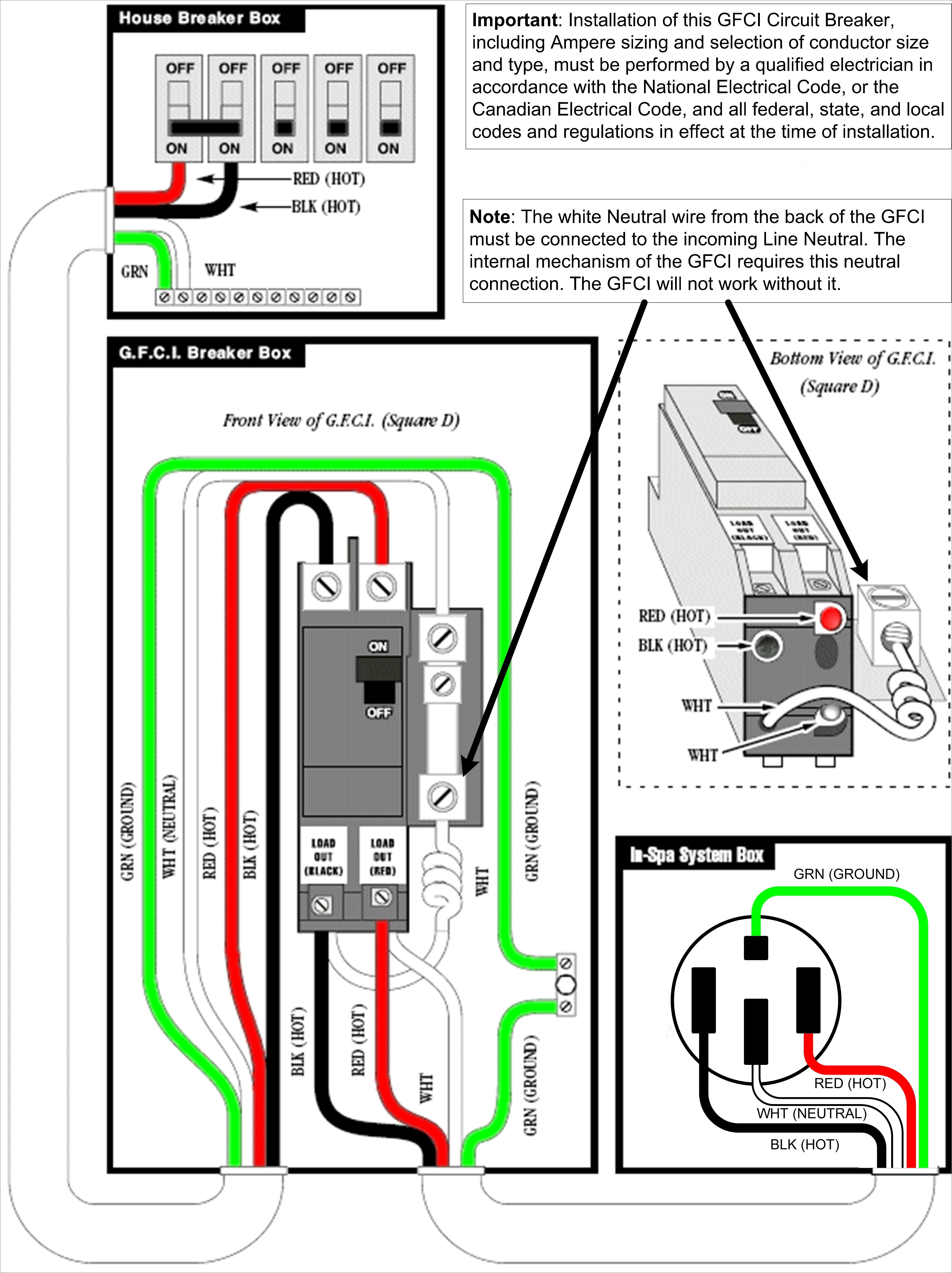 Gz 2132 Box Also How To Wire An Electrical Gfci Outlet Wiring Also Gfci Wiring