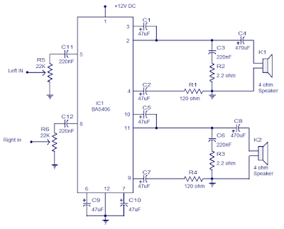 Brilliant 8 To 18 Volts Tda2005 Power Amplifier Online Wiring Diagram Wiring Cloud Onicaxeromohammedshrineorg