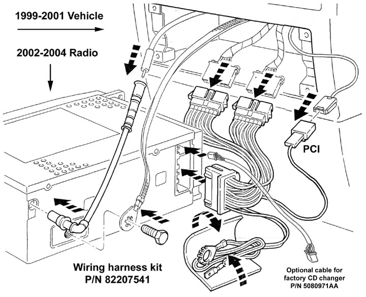 2000 jeep cherokee wiring diagram radio