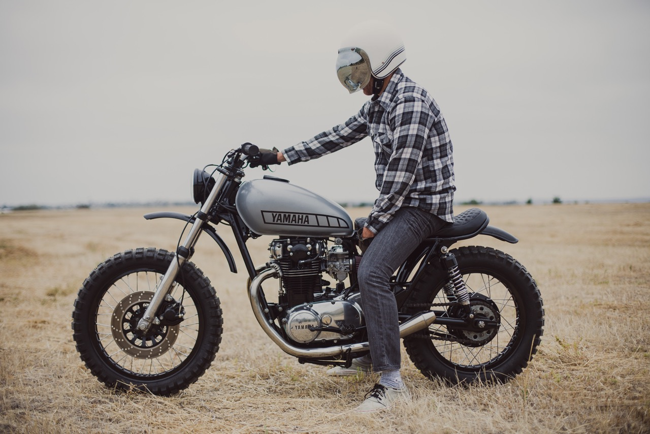 Fabulous Yamaha Xs650 Scrambler By Therapy Garage Bikebound Wiring Cloud Grayisramohammedshrineorg