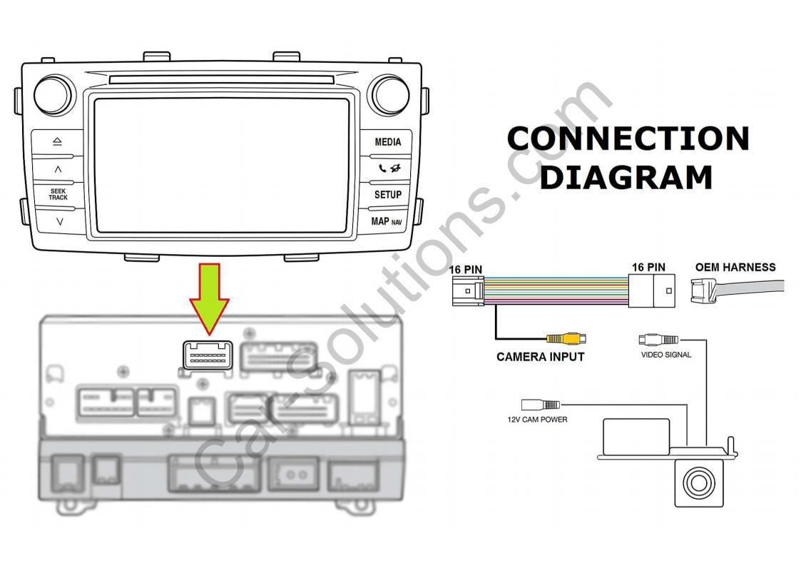 Ls 0003 Toyota Tundra Backup Camera Wiring Harness On Camera Harness System Free Diagram