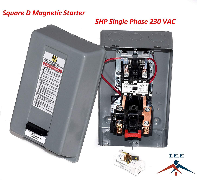 Furnas 3 Phase Magnetic Starter Wiring Diagram