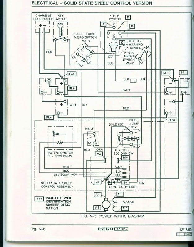 Titan 36 Volt Ez Go Golf Cart Wiring Diagram Towing Wire