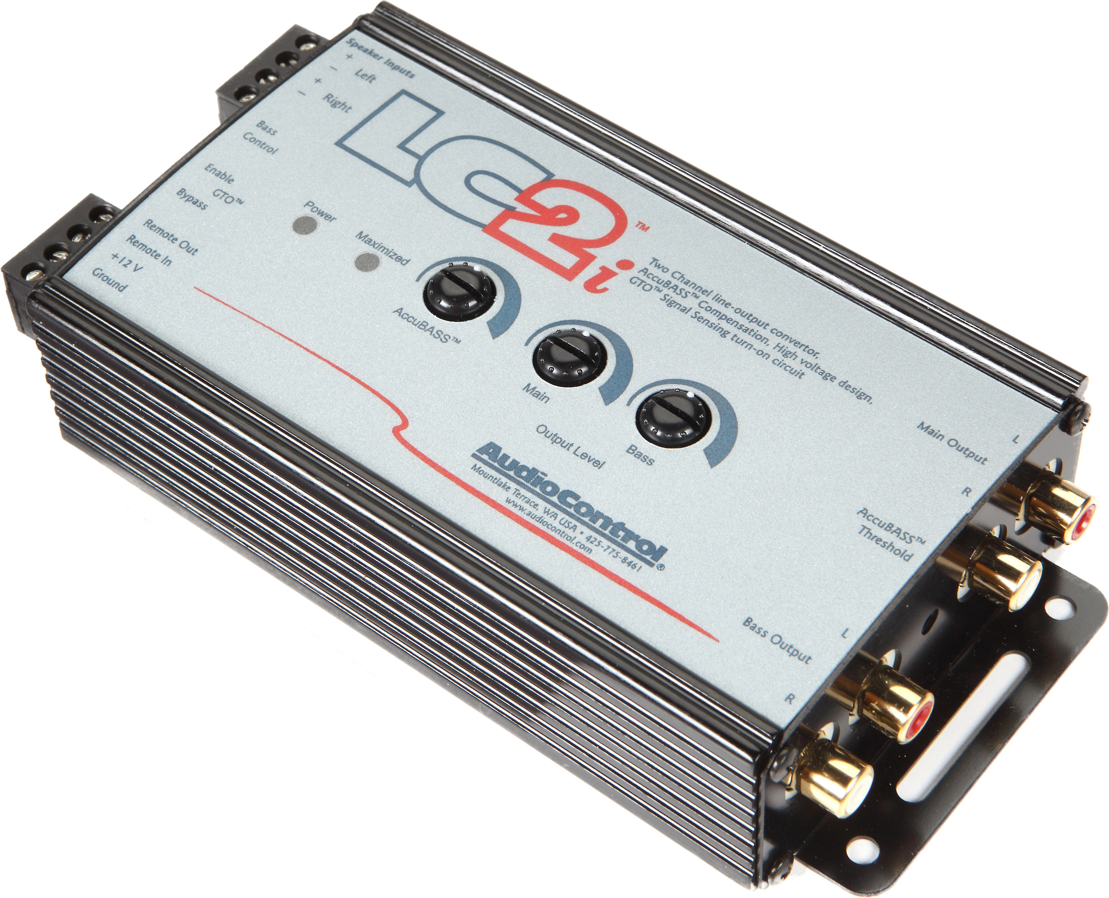 Terrific Audiocontrol Lc2I 2 Channel Line Output Converter For Adding Amps To Wiring Cloud Faunaidewilluminateatxorg