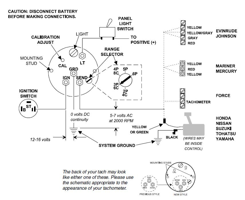 Awesome Super Tach 2 Wiring Diagram Mercury Outboard Tachometer Wiring Wiring Cloud Hisonepsysticxongrecoveryedborg