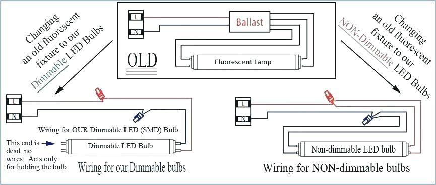 Wiring Diagram Fluorescent Light Fixture