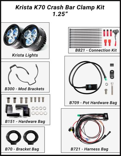 Tremendous Clearwater Lights Led Motorcycle Lights And Off Road Vehicle Wiring Cloud Loplapiotaidewilluminateatxorg