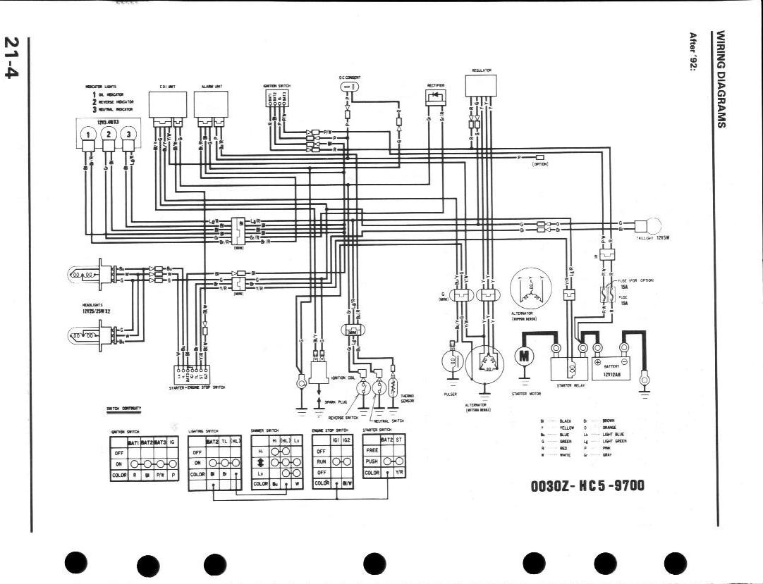 Fabulous 1998 Honda Fourtrax 300 Wiring Diagram Collection Wiring Diagram Wiring Cloud Staixaidewilluminateatxorg