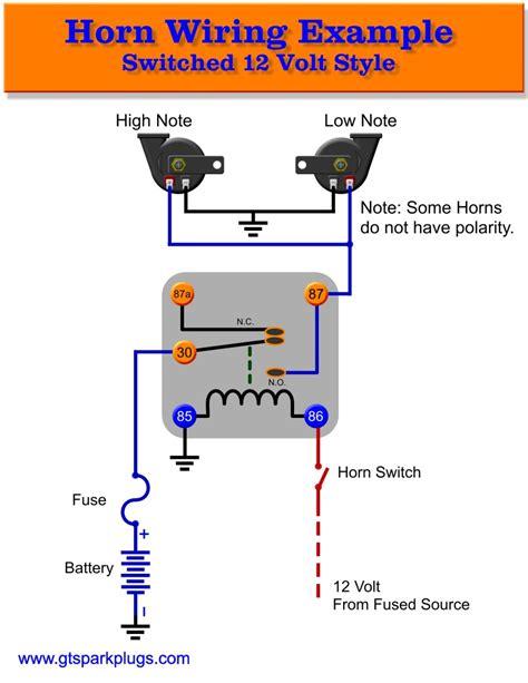 Tr 2830 Pin Horn Relay Wiring Diagram Also Bad Boy Air Horn Wiring Diagram Wiring Diagram
