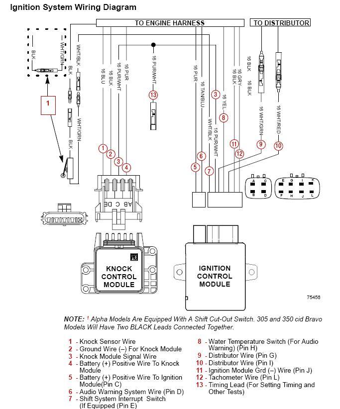 thunderbolt iv ignition wiring diagram  schematic wiring