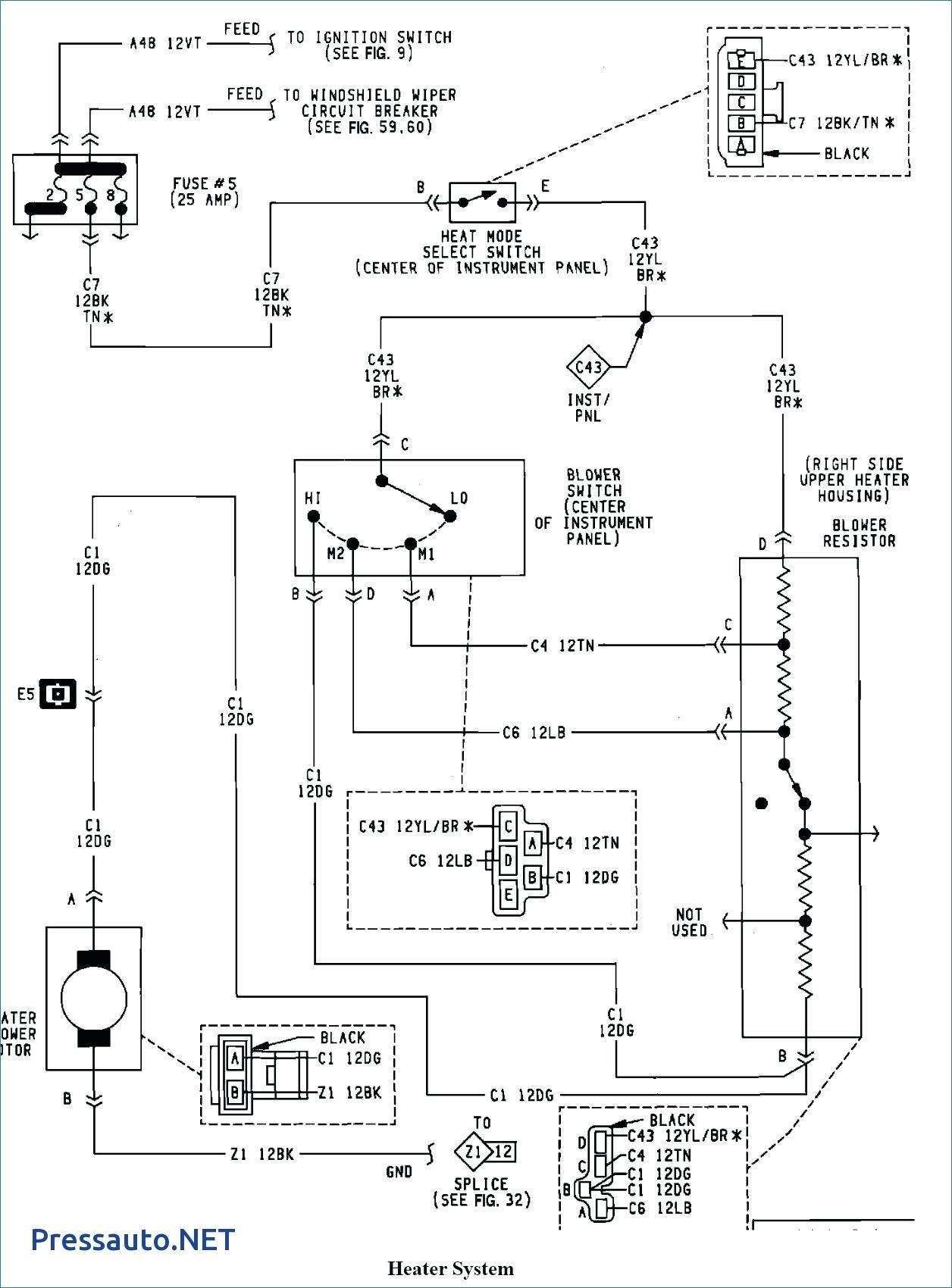 1996 Jeep Grand Cherokee Alarm Wiring Diagram