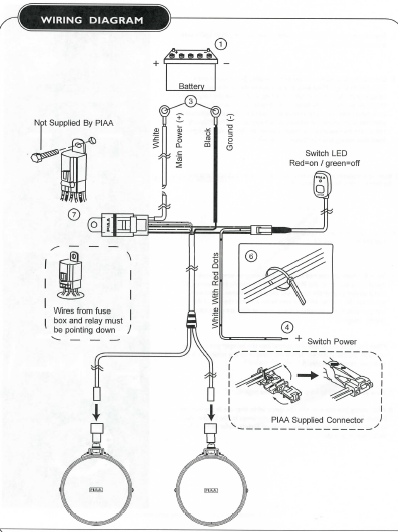 Rg 2977  Wiring Piaa Fog Lamps Schematic Wiring