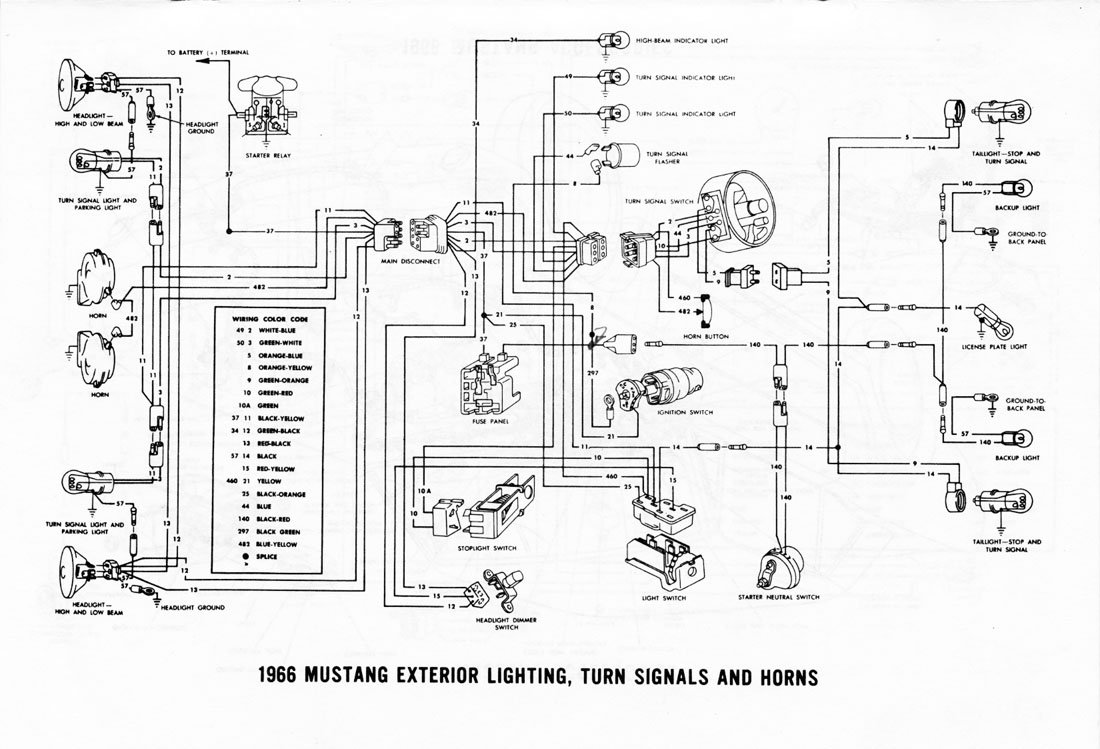 64 Mustang Turn Signal Wiring Diagram Schematic -Ford F53 Wiring | Begeboy Wiring  Diagram Source | Turn Signal Wiring Diagram For 1966 Mustang |  | Begeboy Wiring Diagram Source