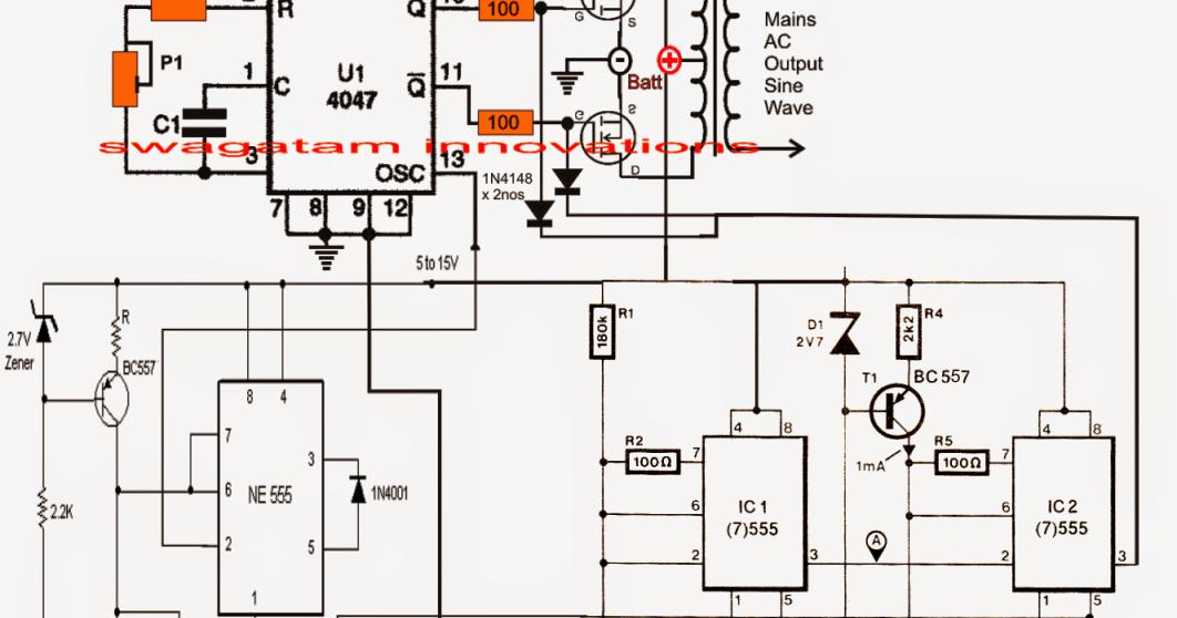 Admirable Sine Wave Inverter Circuit Diagram As Well Pure Sine Wave Inverter Wiring Cloud Hisonepsysticxongrecoveryedborg