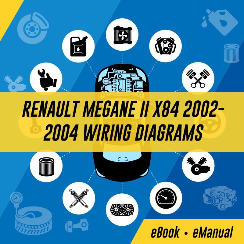 Superb Renault Megane Ii X84 Workshop Service Repair Manual Wiring Cloud Xortanetembamohammedshrineorg