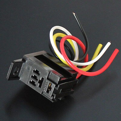 Phenomenal 5 Sets Car Auto 30A 12V Relay Kit For Electric Fan Fuel Pump Light Wiring Cloud Dulfrecoveryedborg