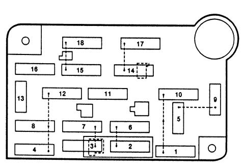 Magnificent Lincoln Town Car 1992 1997 Fuse Box Diagram Auto Genius Wiring Cloud Monangrecoveryedborg
