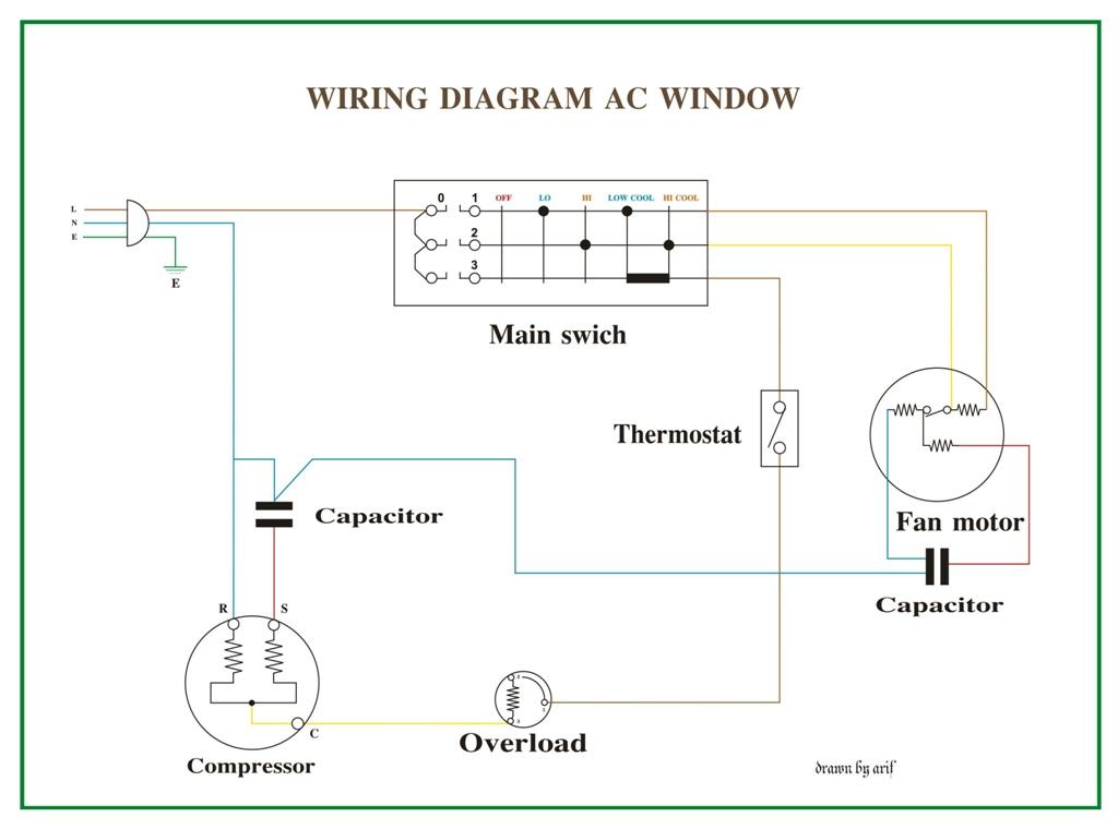 Awesome Window Air Conditioner Wiring Diagram Basic Electronics Wiring Diagram Wiring Cloud Grayisramohammedshrineorg