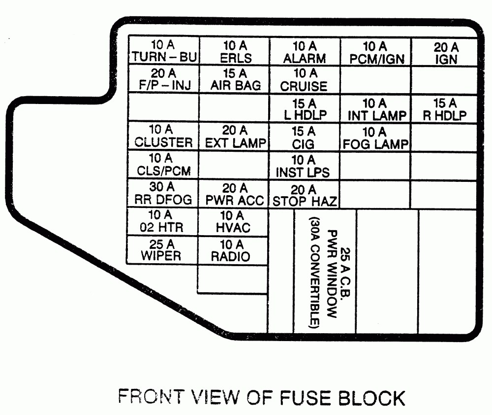 2000 cavalier fuel pump wiring diagram 1990 chevy cavalier fuse box diagram blog wiring diagram  1990 chevy cavalier fuse box diagram