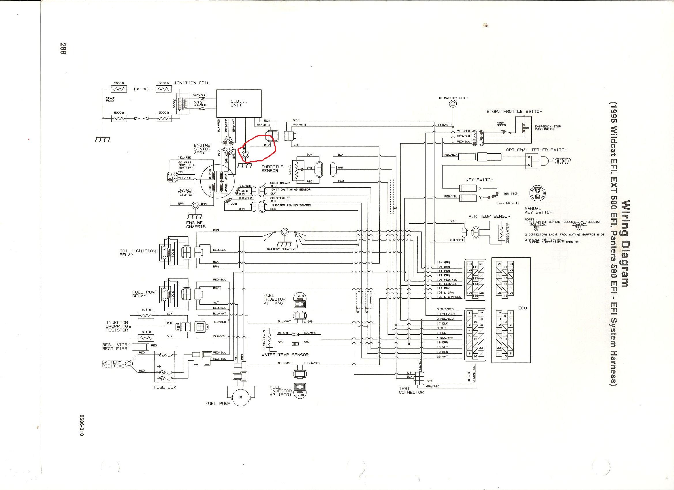 arctic cat jet ski wiring diagrams arctic cat tigershark wiring diagram wiring diagram schematics  arctic cat tigershark wiring diagram