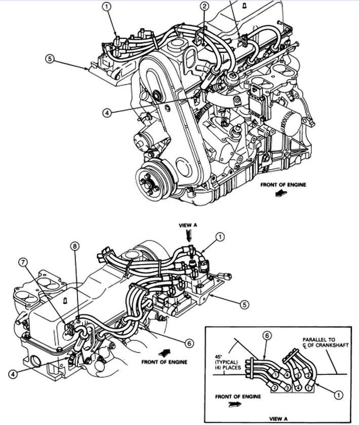 Stupendous 1992 Ford Ranger Spark Plug Wiring Diagram How To Replace Spark Wiring Cloud Rineaidewilluminateatxorg