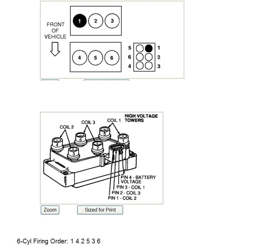 Gl 5989 2005 Ford Taurus Spark Plug Wire Diagram Download Diagram