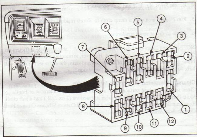 1972 Ford F100 Fuse Box Diagram Wiring Diagram Overview A Overview A Musikami It