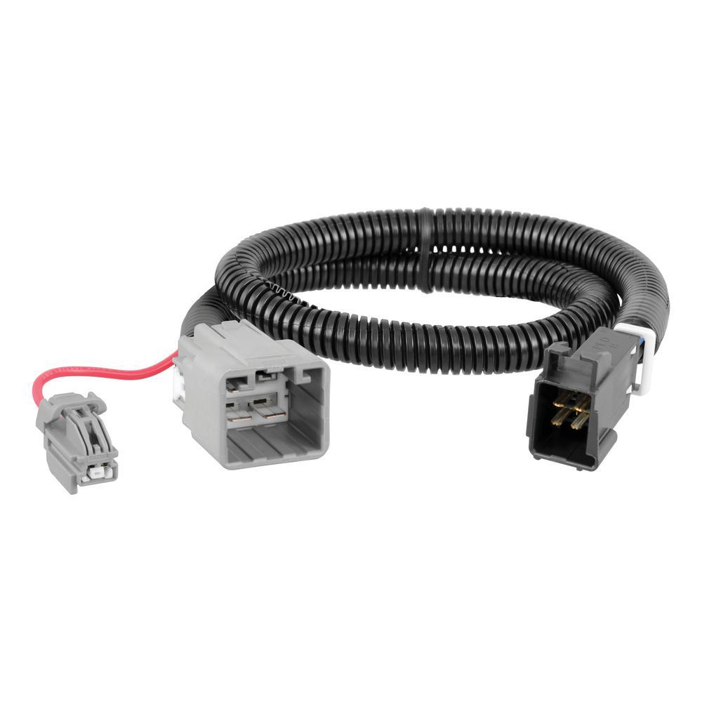 Wondrous Curt Custom Trailer Brake Controller Wiring Harness 51453 The Home Wiring Cloud Onicaxeromohammedshrineorg