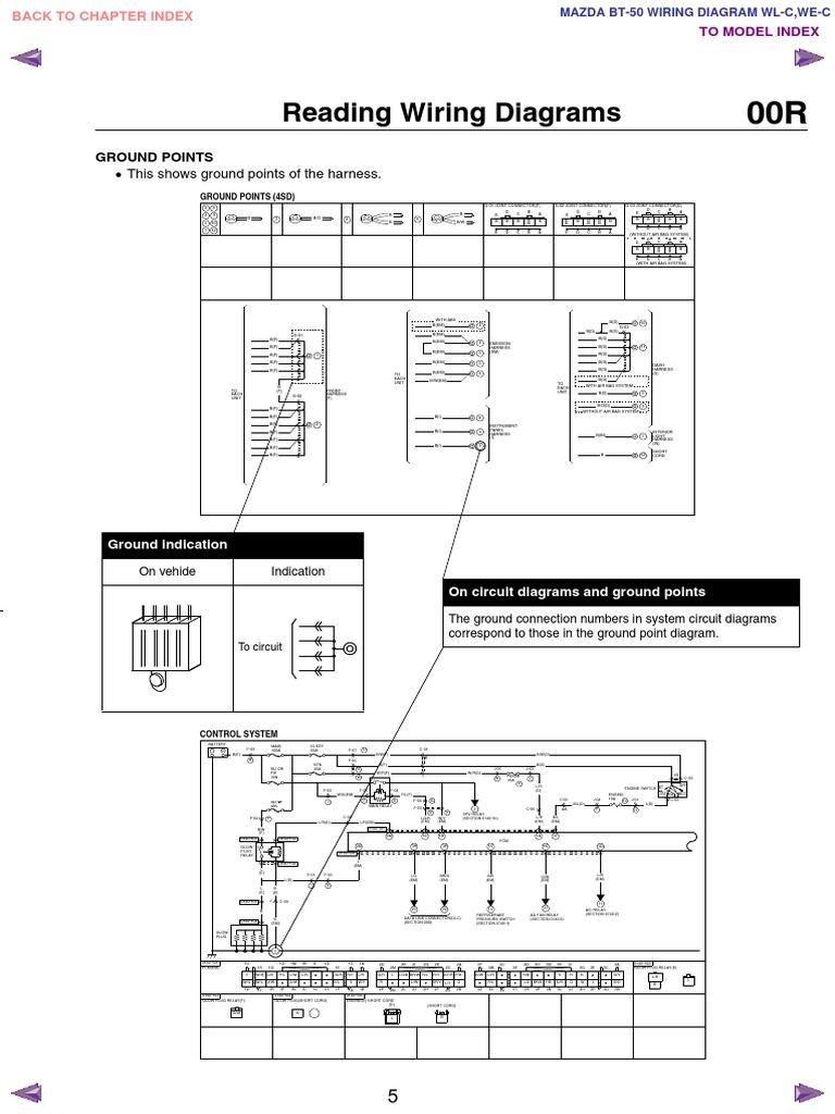 Mazda Bt 50 Trailer Wiring Diagram