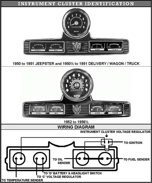 willys wagon wiring diagram va 0207  1958 willys panel wiring diagram  va 0207  1958 willys panel wiring diagram