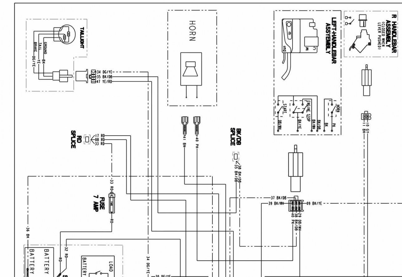 Polaris Predator 90 Wiring Diagram