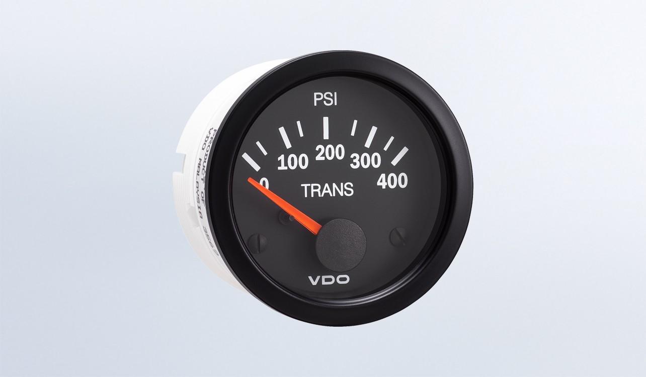 Miraculous Vision Black 400 Psi Oil Pressure Gauge Use With Vdo Sender 12V Wiring Cloud Filiciilluminateatxorg