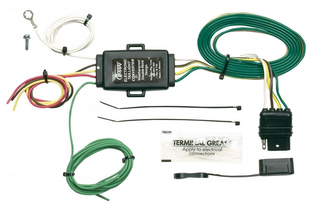 Swell Hopkins Tail Light Converter Kit With 4 Pole Flat Trailer Connector Wiring Cloud Orsalboapumohammedshrineorg
