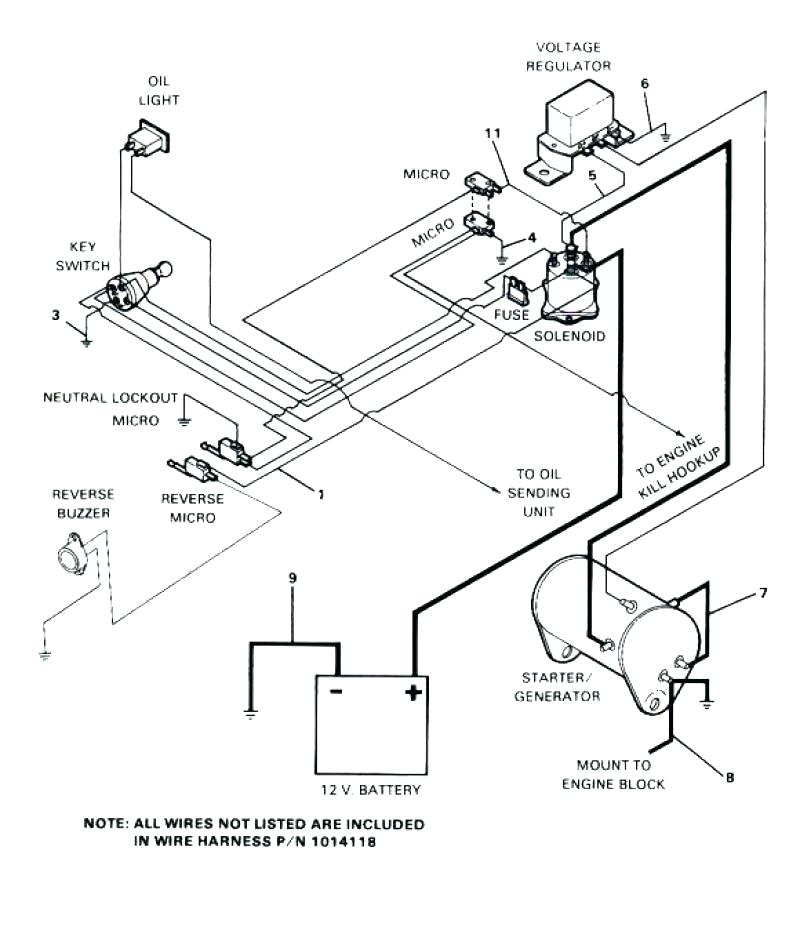 1991 Ezgo Wiring Diagram - Wiring Diagram and Schematic