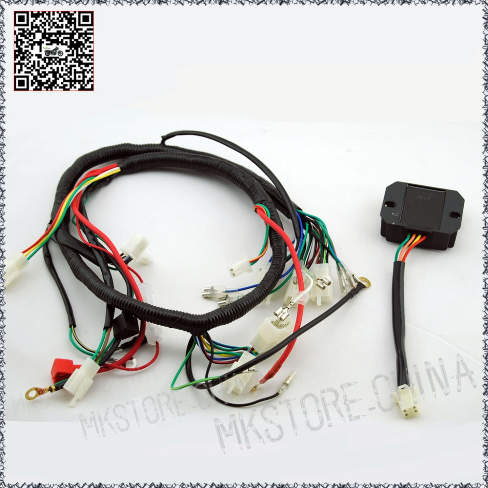 Awesome Quad Wiring Harness 200 250Cc Chinese Electric Start Loncin Wiring Cloud Licukosporaidewilluminateatxorg