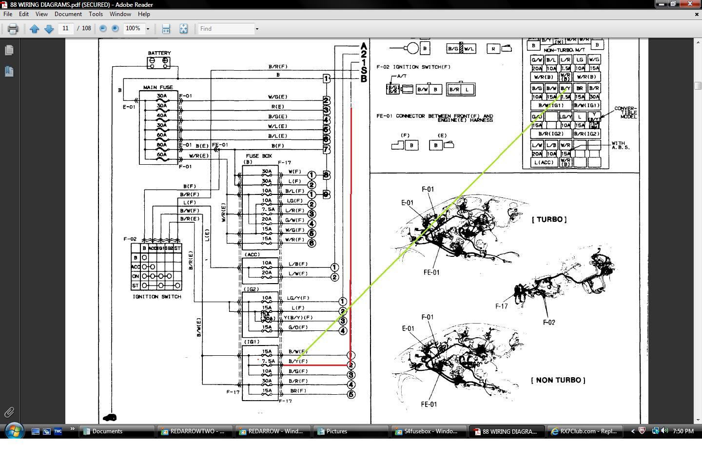 Super 88 Rx7 Wiring Diagram Rx7Club Com Mazda Rx7 Forum Wiring Cloud Licukosporaidewilluminateatxorg