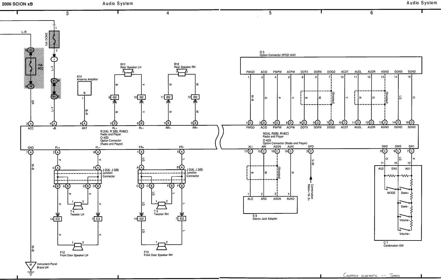 tc 2012 scion pt546 wiring diagram bs 1586  2007 scion tc stereo wiring diagram wiring diagram  2007 scion tc stereo wiring diagram