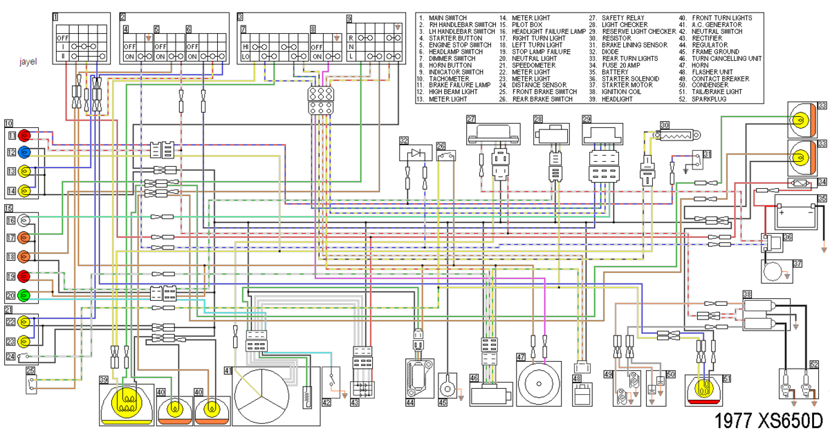 Superb Some Wiring Diagrams Yamaha Xs650 Forum Wiring Cloud Faunaidewilluminateatxorg