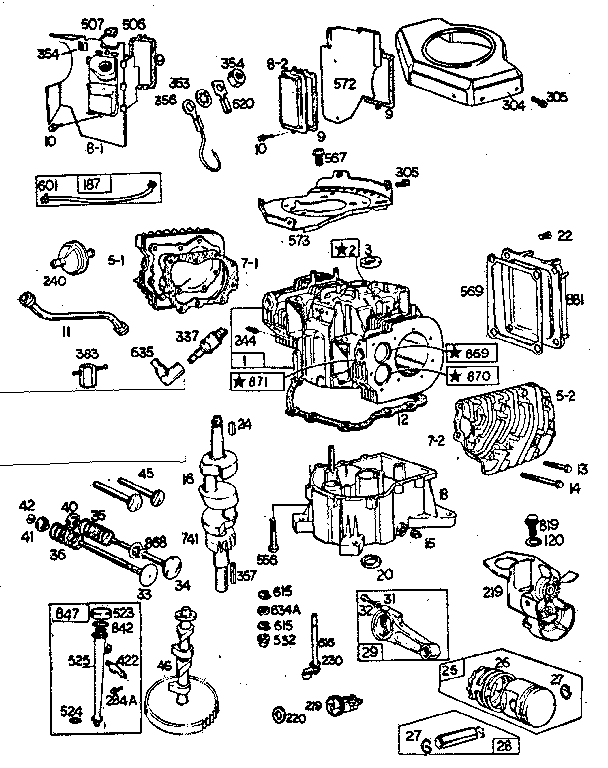 Briggs Stratton Engine Schematics 2000 Maxima Fuse Diagram For Wiring Diagram Schematics